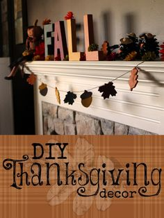 DIY Thanksgiving Decor Ideas.