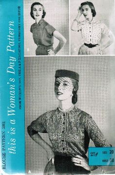 Vintage Fashion Library - New Look to Rockabilly 1950s
