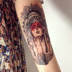 Alisa Tesla #tattoo #ink