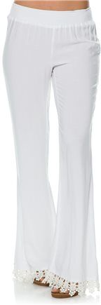 Volcom Simmer Down Pant. http://www.swell.com/New-Arrivals-Womens/VOLCOM-SIMMER-DOWN-PANT?cs=WH