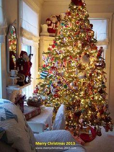 Christmas Tree Decorations Ideas 2013 Pinterest Images