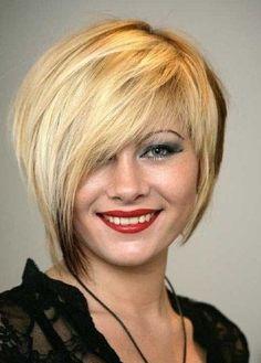 Trendy Short Hairstyles: Asymmetrical Hair Cut