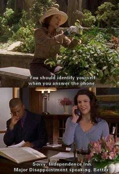 Answering the on-call phone...