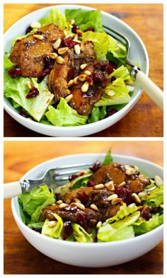 Slow Cooker Pomegranate Chicken Salad from The Perfect Pantry; I love ...
