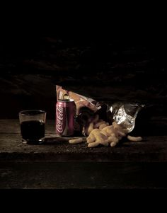 Mat Collishaw - Last meal before Death Row