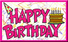 Emoticons - Animated Gifs - Collections :): Animated Happy Birthday