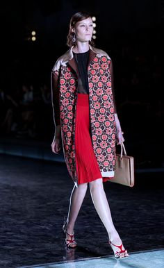 Prada Spring/Summer Fashion Week 2012.