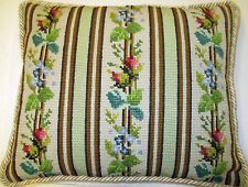 Vintage Cushion, Needlepoint, very good condition.