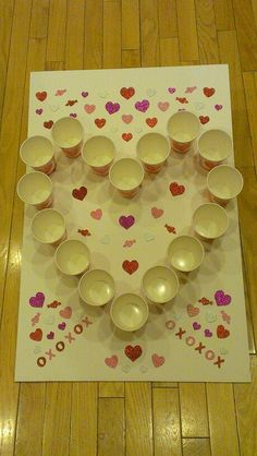 Preschool Valentine's Day Game