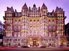 Mandarin Oriental Hotel in London. The iconic Mandarin Oriental is a landmark near Hyde Park in London. Mandarin Oriental, London Hotels, Yorkshire, Wales, Hyde Park London, West London, Thailand, Grand Hotel, London Travel
