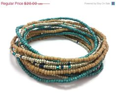 Check out this item in my Etsy shop https://www.etsy.com/listing/216188440/on-sale-seed-bead-wrap-stretch-bracelets