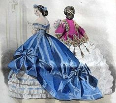 1860s fashion plate, The Barrington House Educational Center, L.L.C. civil war era fashion