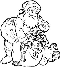Print me off, colour me and then leave me out for Santa Claus Christmas Eve!!