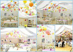 false ceiling in an LDS cultural hall  ecclesfam.blogspot.com