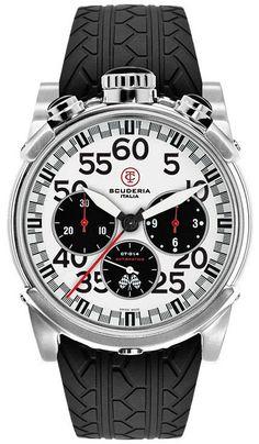500439e4f02fa CT Scuderia Watch City Racer Chronograpgh  bezel-fixed   bracelet-strap-rubber