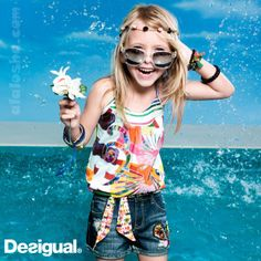 ALALOSHA: VOGUE ENFANTS: Desigual Summer kids (Girls collection)