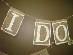 super cute for wedding entry area, outdoor wedding banner.