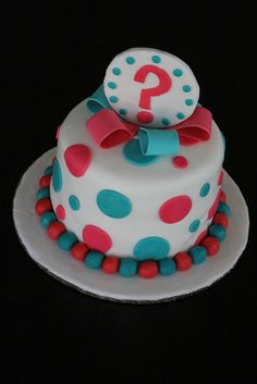 Baby Gender Reveal Cake | Party Cakes | Pinterest | Baby gender ...