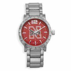 Collegiate Licensed University of Nebraska Men's Fashion Watch Driscoll's Jewelry & Gifts. $29.14