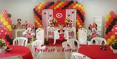 festa minnie vermelha Lyndart e Festa