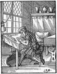 Jost Amman - Block Cutter at Work – 1568