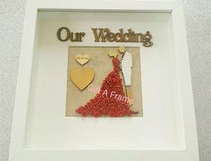 Personalised Frames, Handmade Frames, Handmade Gifts, Indian Wedding Gifts, Newlywed Gifts, Newlyweds, Our Wedding, Unique Jewelry, Crafts