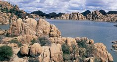 Grab your canoe or Kayak and enjoy the beauty of Watson Lake in Prescott, AZ.