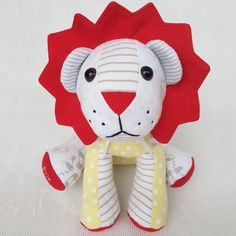 Memory Lion from Lily Grace Keepsakes Lily Grace, Personalized Baby Gifts, Bear Doll, Sewing Toys, Toy Sale, Handmade Toys, Hello Kitty, Sewing Patterns, Memories