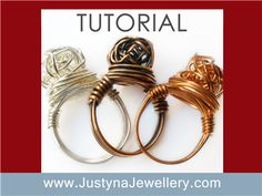 Knotted Wire Ring Tutorial