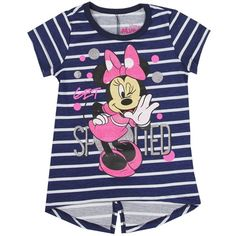 Toddler Minnie Mouse Striped Shirt