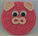 Critter Pig Coaster