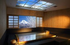 Αποτέλεσμα εικόνας για hinoki Onsen Ofuro tub