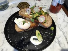 avocado on toast with poached egg at The Cupping Room - Eating Out in Hong Kong: Part II   A Life Shift