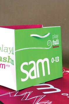 Kids fashion shopping bag. Sam 0-13. oghpack.gr #oghpack #greece