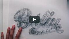 El trabajo de lettering de Martina Flor. El proceso de creación