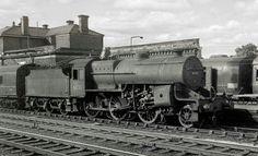 BR (LMS) Hughes Fowler class 5  'crab' 2-6-0 Steam Trains Uk, Steam Railway, Train Times, Old Trains, British Rail, Train Car, Steam Engine, Steam Locomotive, Abandoned Places