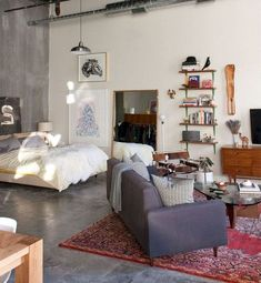If you are looking for Rustic Studio Apartment Decor Ideas, You come to the right place. Here are the Rustic Studio Apartment Decor Ideas. Studio Apartment Layout, Studio Layout, Studio Apartment Decorating, Apartment Ideas, Studio Apartment Organization, New York Studio Apartment, Studio Loft Apartments, Small Apartment Layout, Minimalist Studio Apartment