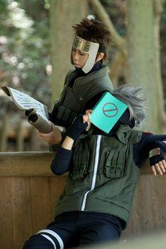 Kakashi and Yamato cosplay Epic Cosplay, Naruto Cosplay, Marvel Cosplay, Cosplay Diy, Amazing Cosplay, Kakashi Sensei, Naruto And Hinata, Naruto Shippuden, Boruto