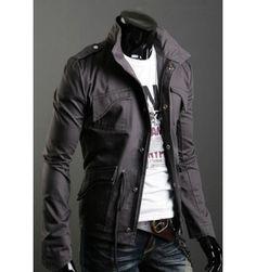 The Jumper Grey www.leatherandcotton.com !