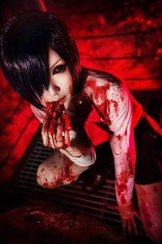 Me encanta este cosplay de Touka (Tokyo Ghoul)