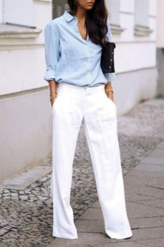 Cute Spring Chic Office Outfits Ideas 04