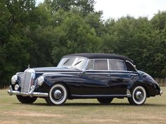 1954 Mercedes-Benz 300 Adenauer Cabriolet #mbhess #mbclassic