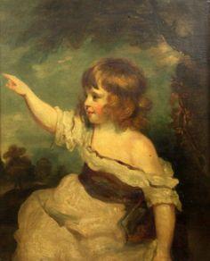 Quadro pintado a oleo depois de Sir Joshua Reynolds, sec.19th, 75cm X 63,5cm, 42,000 EGP / 15,700 REAIS / 4,865 EUROS / 5,540 USD https://www.facebook.com/SoulCariocaAntiques