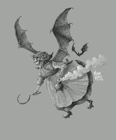 Víctor Rivas Ilustrations: Meiga