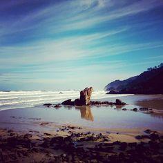 #Playa de Aguilar #MurosdelNalón #Asturias