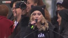 SIGN THIS PETITION ...Madonna said in front of thousands of people in Washington, D.C. that she has thought a lot about blowing up the White House.   If any of us would say such a thing on Social Media, the FBI would be at our door.   We want this woman brought in for questioning and we want her to be prosecuted to the...