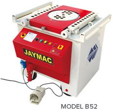 JAYMAC® Bar Bending Machine is a semi automatic, durable fast and cost effective machine, used for bending reinforcement bars and various forms of round bars. This machine effectively increases the production capacity of your steel yard, minimizing the use of manual labor.