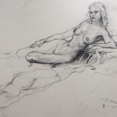 """@thesandsvintagehome on Instagram: """"Mid century life drawing stunner ✨ she's a gem for sure... nude sketch with a twist 🙌 DM for more info... #isellvintage #artsketch…"""" Anatomy Sketches, Body Sketches, Anatomy Drawing, Art Drawings Sketches, Pencil Drawings, Back Drawing, Life Drawing, Figure Drawing, Art Alevel"""