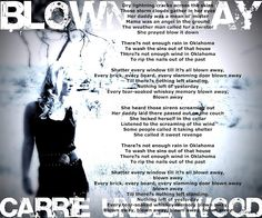 Country Music lyrics #Carrie Underwood love this song