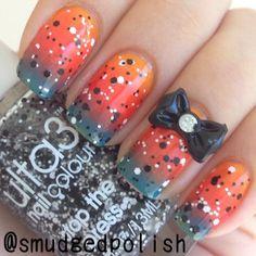 smudgedpolish #nail #nails #nailart
